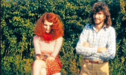 Grace Coddington Working with Didier in the English countryside before they were dating.